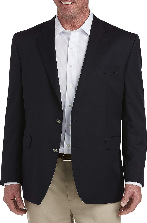 Jack Victor Big and Tall Classic Blazer, Navy 50 L