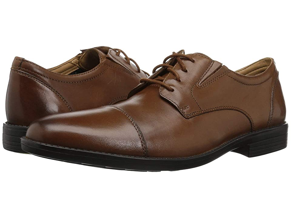 Bostonian Birkett Cap (Dark Tan Leather) Men