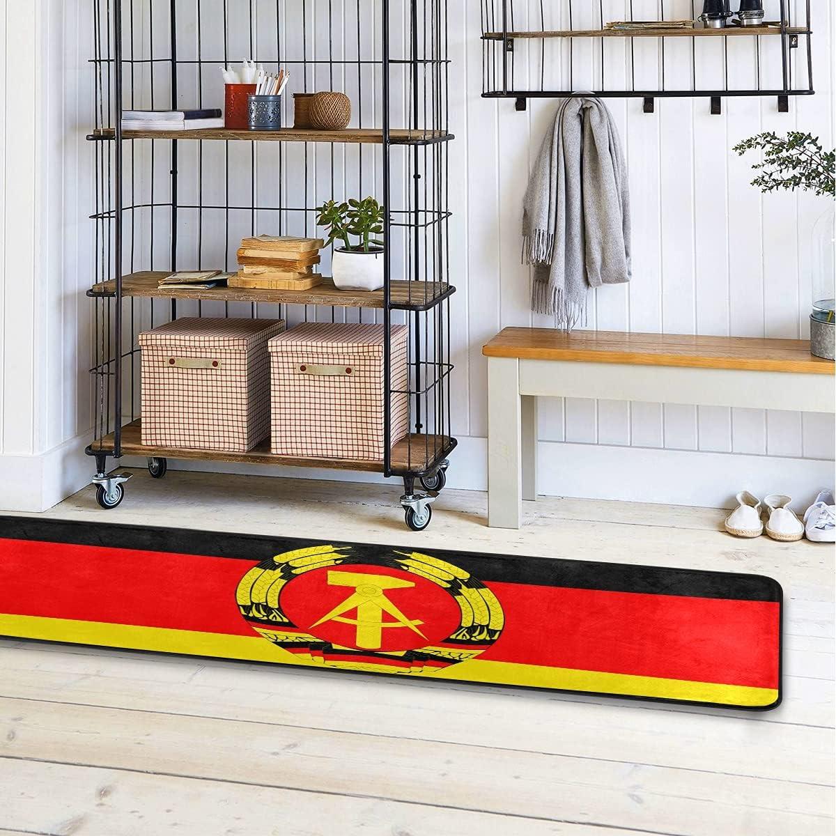 Indianapolis Mall Max 74% OFF MALPLENA East Germany Kitchen Runner Modern Rug 72x24
