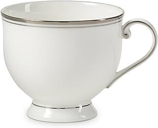 Mikasa Gothic Platinum Tea Cup, 8 oz, Silver
