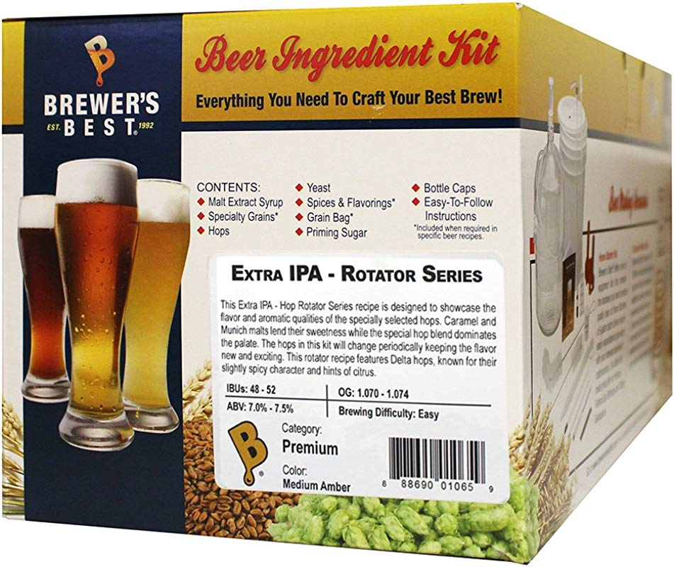 Home Brew Ohio Best Extra IPA Rotator Series Beer Ingredient Kit