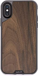 MOUS Protective iPhone X/XS Case - Real Walnut Wood - Screen Protector Inc.