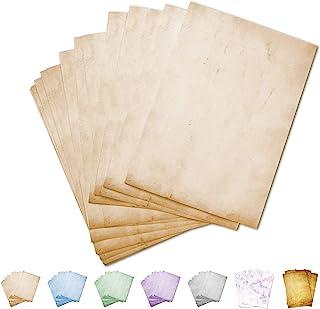 Partycards Papel de Escribir | 50 Hojas |Beige|Formato DIN A4 (21,0 x 29,7 cm)|Gramaje 90 g/m² |impresión a Doble Cara, Adecuada para Todas Las impresoras