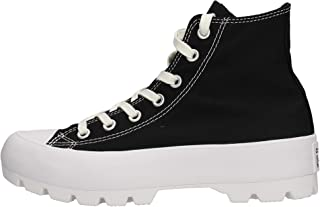 Converse Chuck Taylor All Star Lugged Womens Black Hi Trainers