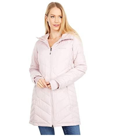 Columbia Heavenly Long Hooded Jacket (Mineral Pink) Women