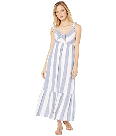 Tommy Bahama Rugby Beach Stripe Maxi Cover-Up (White) Women