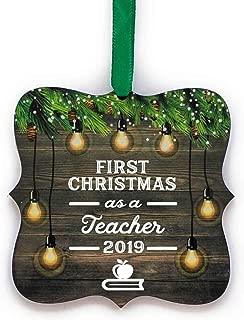 Best first year teacher christmas ornament Reviews