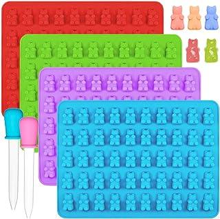 IHUIXINHE Silikon Gummibärchen Süßigkeit-Silikon-Formen &