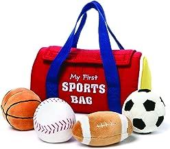 GUND Baby My First Sports Bag Stuffed Plush Playset, 5 Piece, 8