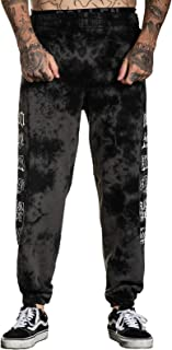 Sullen Men's Richie Stacked Sweatpants Black Crystal