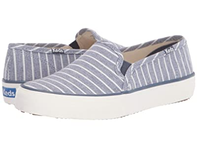 Keds Double Decker Breton Stripe (Blue) Women