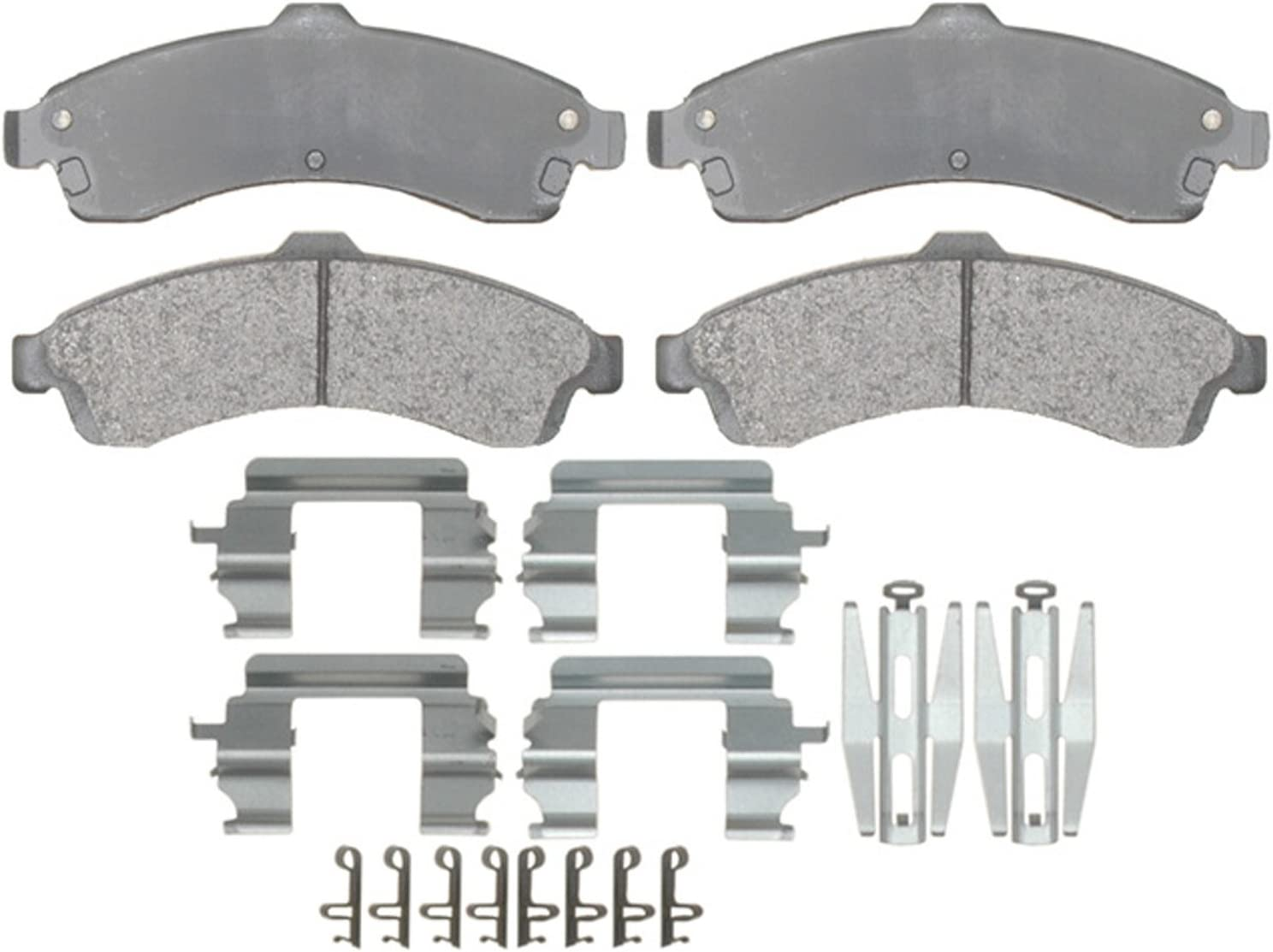 ACDelco OFFicial 2021 Gold 17D882MH Semi-Metallic Front Disc Brake Pad Set