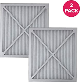 AF Replacement Compatible with Hunter Deluxe 30920 Replacement Hepa Filter with Carbonnite (2 Pack)