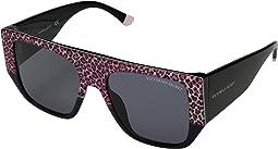 Pink Leopard/Black