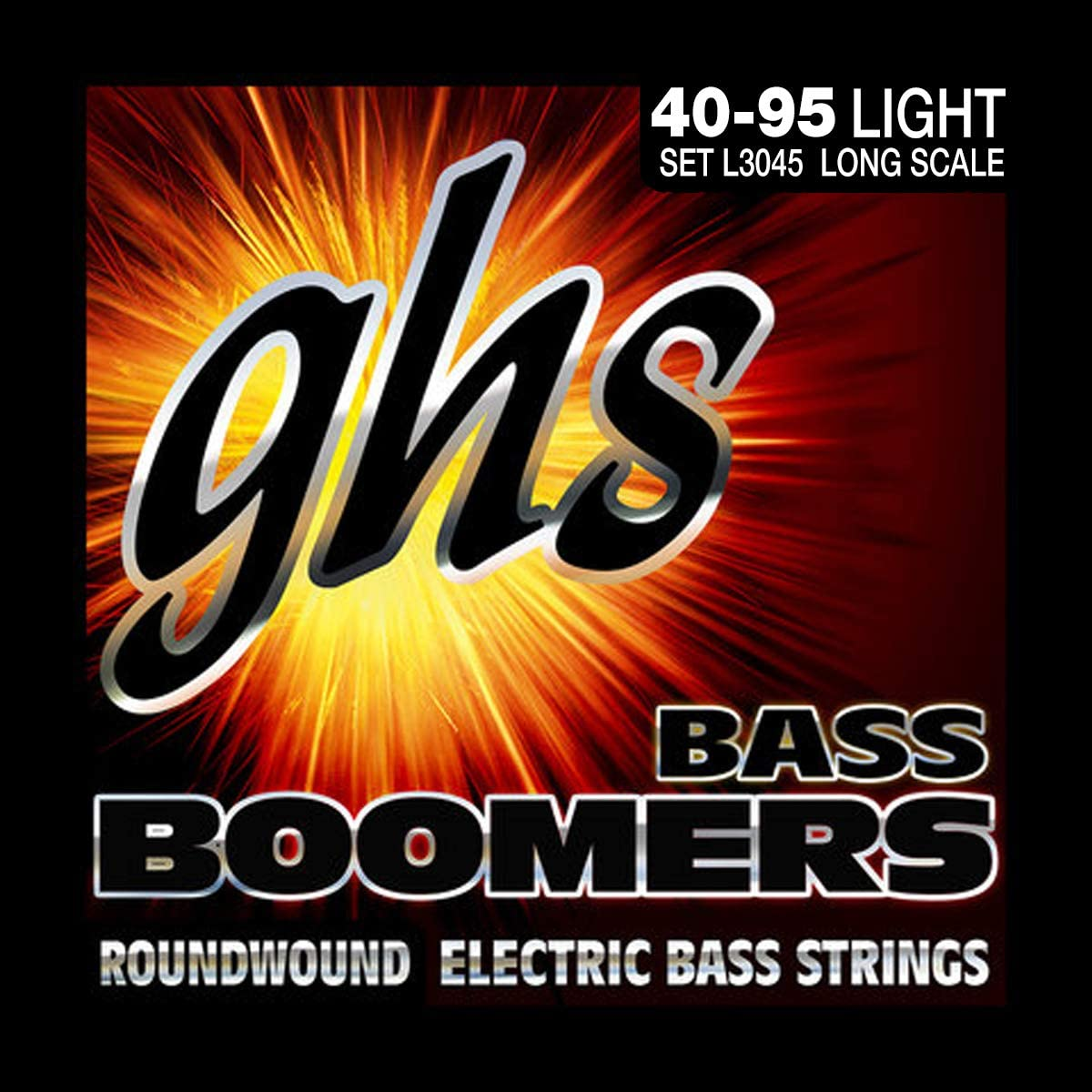 Cheap SALE Start GHS Strings L3045 Max 60% OFF 4-String Electric Boomers Bass Nickel-Plated