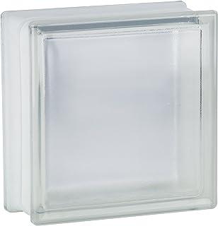 comprar comparacion 5 piezas FUCHS bloques de vidrio riva neutro 19x19x8 cm