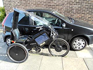 The SOLAR ELECTRIC TRIKE.: How it was made !