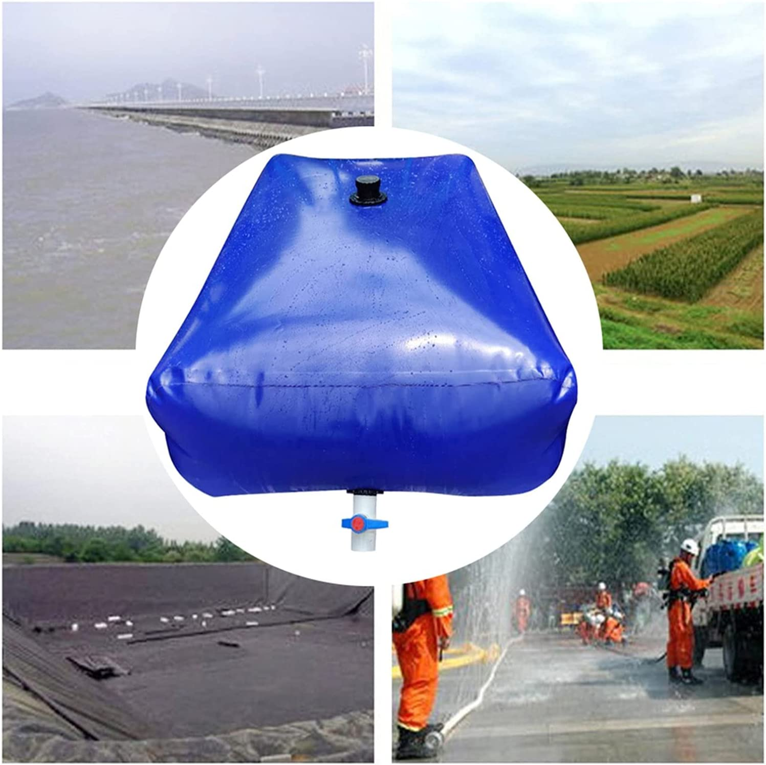 Water Low price Storage Tank Soft PVC Large Foldable Carrier Capaci Max 61% OFF