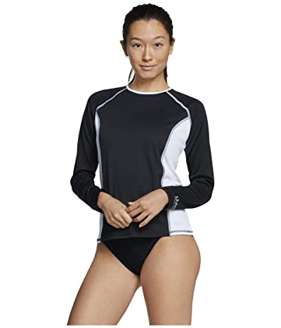 Speedo Swim Tee (Black/White) Women