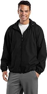 Sport-Tek Full-Zip Hooded Jacket, 2XL, Black