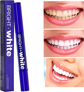 Teeth Whitening Pen, Natural Carbamide Peroxide Gel, Instant Natural Whitener,16+ Uses, Effective, Painless, No Sensitivity, Travel-Friendly, Easy to Use, Beautiful White Smile, Natural Flavor (MB-2)