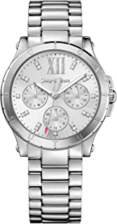 Juicy Couture Casual Watch For Women Analog Stainless Steel - 1901588