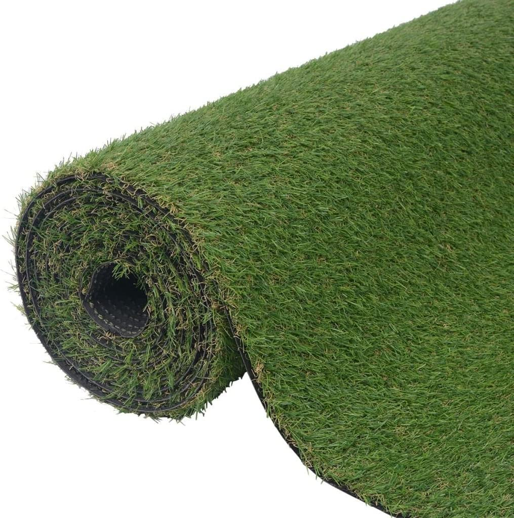 vidaXL Industry No. 1 Artificial Grass Green 3.3'x16.4' 0.8