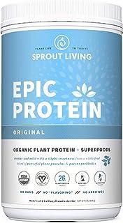 Sponsored Ad - Epic Protein, Organic Plant Protein + Superfoods, Original | 26 Grams Vegan Protein, Gluten Free, No Gums, ...