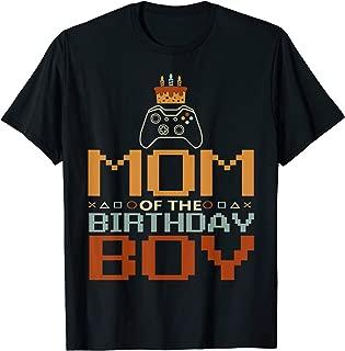 Unlocked Birthday Gamer-Mom of The Birthday Boy T-Shirt