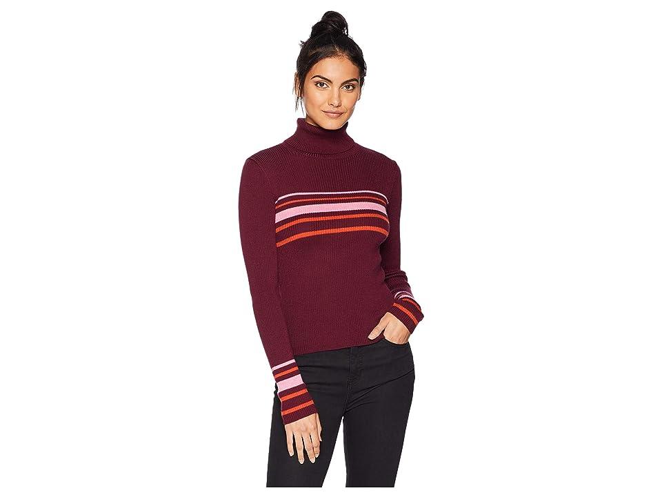 Free People Aspen Turtleneck Sweater (Multi) Women