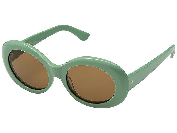 1960s Sunglasses   70s Sunglasses, 70s Glasses RAEN Optics Figurative 53 Self GlossGroovy Bronze Athletic Performance Sport Sunglasses $150.00 AT vintagedancer.com