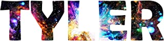 VWAQ Customized Name Wall Decal Personalized Kids Room Milky Way Wall Sticker GN3 (8