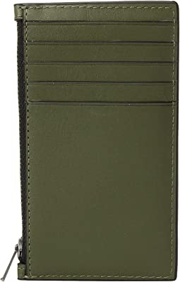 Zip Card Case in Refined Calf