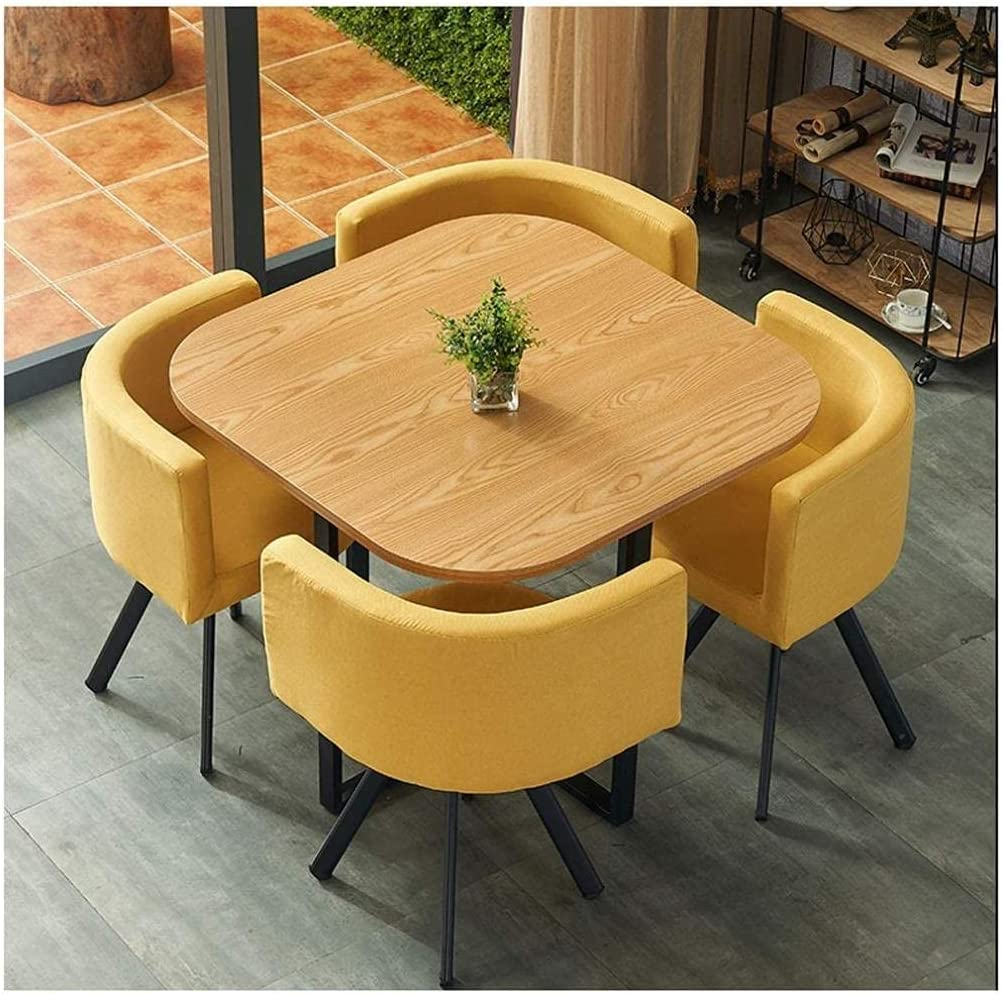 Negotiation Table Online limited product Courier shipping free and Chair Combination Simple Round Small