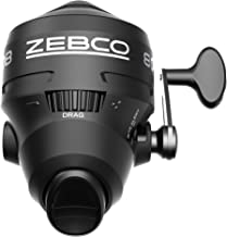 Zebco 808 Spincast Fishing Reel, Powerful All Metal Gears, Quickset Anti-Reverse and Bite Alert,...