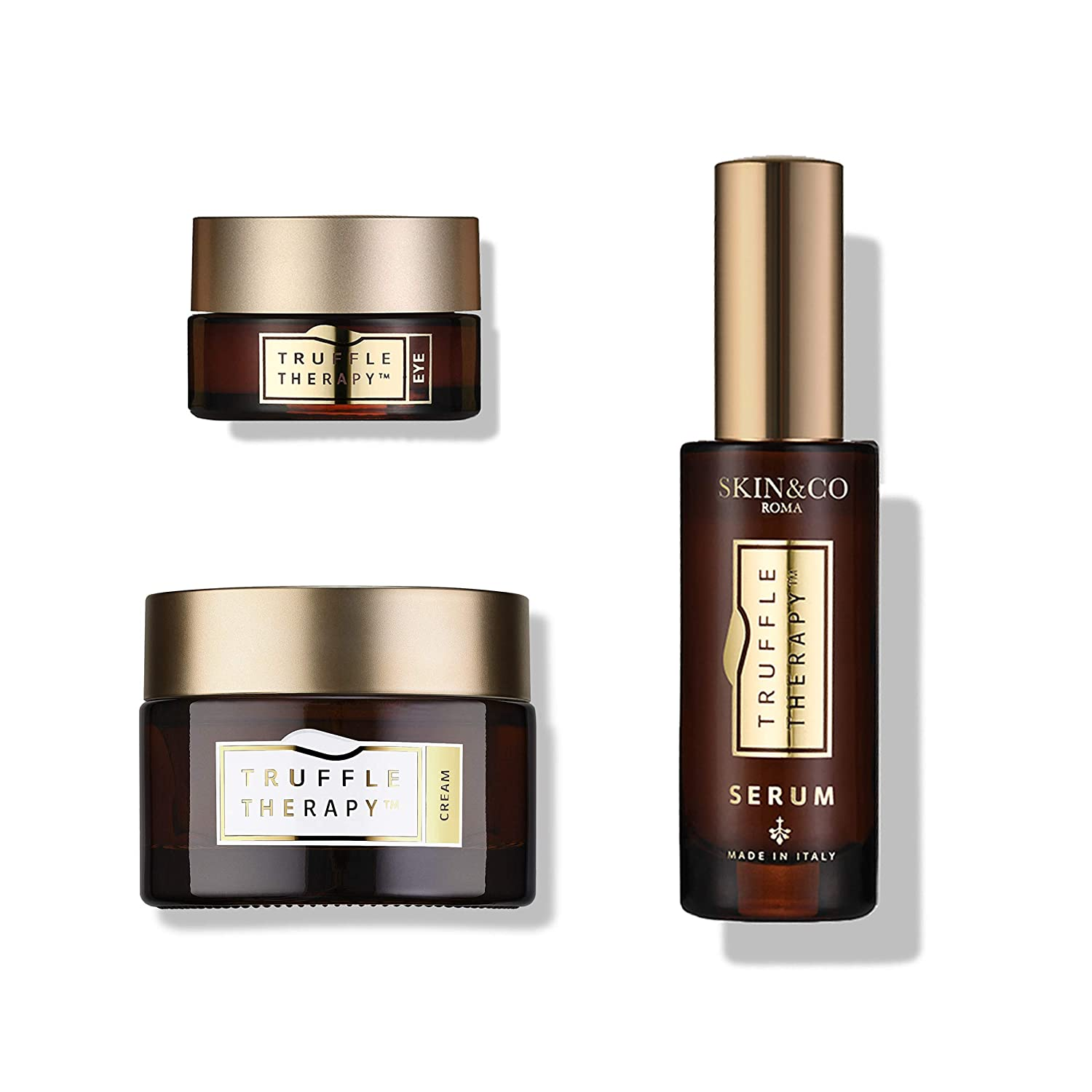 SKINCO OFFer Roma Truffle Therapy True Glow NEW before selling Skincare 3.2 Oz Set Fl