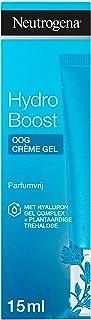 Neutrogena Hydro Boost oog crème gel,verkwikkende 3-in-1 verzorging versterkt de beschermende barrière van de huid,hydrate...