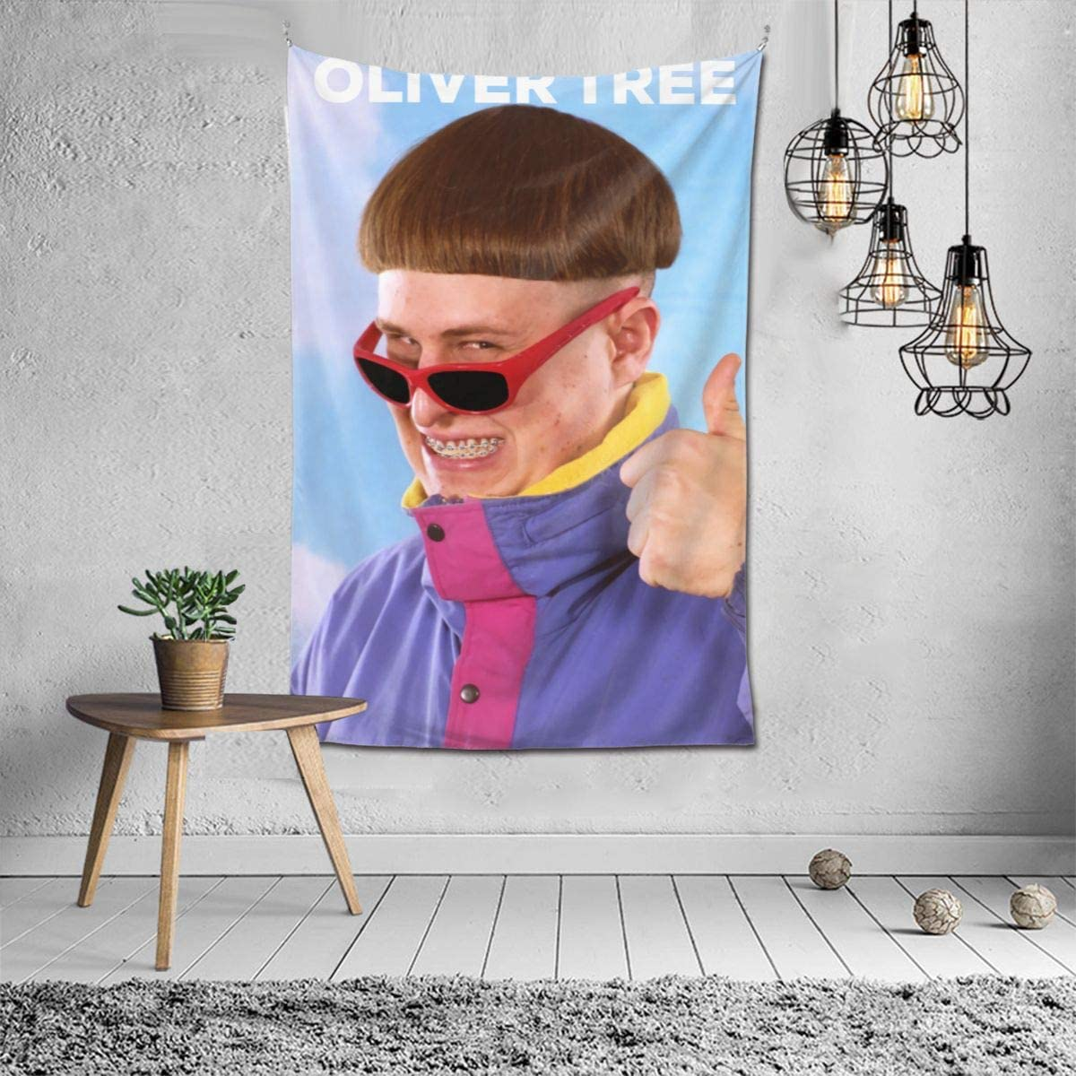 MarthaPOrtiz 付与 最新号掲載アイテム Oliver Tree Tapestry Exquisite H Wall