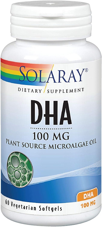 Solaray DHA Neuromins Vegan Btl-Plastic 60ct Softgel 100mg Kansas City Mall Ranking TOP9