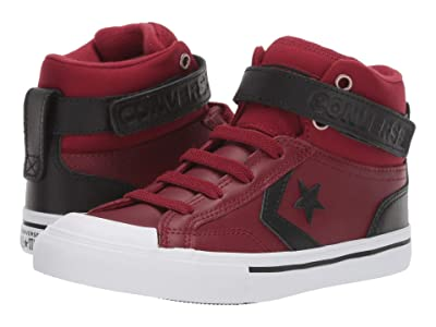 Converse Kids Pro Blaze Strap Martian Hi (Little Kid/Big Kid) (Back Alley Brick/El Dorado/Black) Boys Shoes