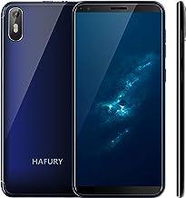 Hafury A7 (2019) Android 9.0 Smartphone Libre con 5.5 Pulgadas (18:9) Pantalla táctil, Dual SIM Dual Standby, 2GB RAM 16GB Almacenamiento, 8MP cámara trasera/5MP cámara Frontal (Azul)
