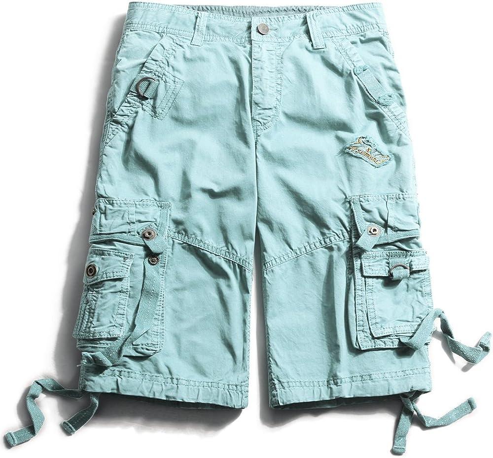 OCHENTA Mens Cargo Shorts Popular products 40 Finally popular brand Sky Blue