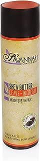 Savannah Hair Therapy - Moisture Repair - Leave-In Cream - 250ml/8.45oz