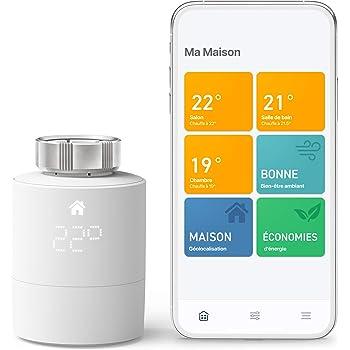 tado° Tête Thermostatique Intelligente Kit de Démarrage V3+ - Contrôle intelligent du chauffage, Installez par vous-même, Designed in Germany