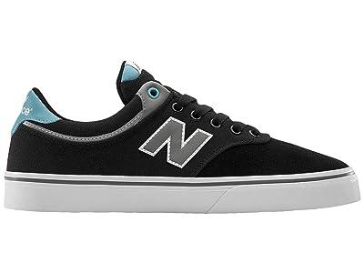 New Balance Numeric NM255 (Black/Blue) Skate Shoes