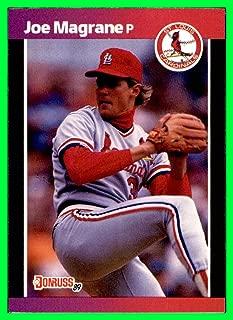 1989 Donruss #201 Joe Magrane MLB Network St. Louis Cardinals