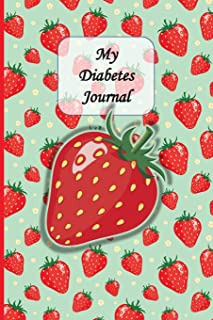 My Diabetes Logbook: Unique Beautifully Designed Log Book Tracker Notebook For Diabetics To Document Daily Data, Pastel Pa...