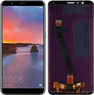 استبدال سواركينج متوافق مع Huawei Mate SE & Honor 7X (أسود بدون إطار) مجموعة شاشة LCD تعمل باللمس مع أدوات إصلاح