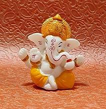"Sawcart 2.5"" Lord Ganesha/Ganpati Small Statue Decorative Vinayak Puja Idol Figurine Sculpture Hindu God of Success, Prosp..."