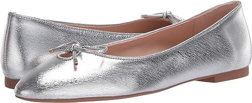 Silver Lame Nappa